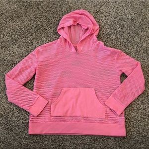Little girls mesh hoodie
